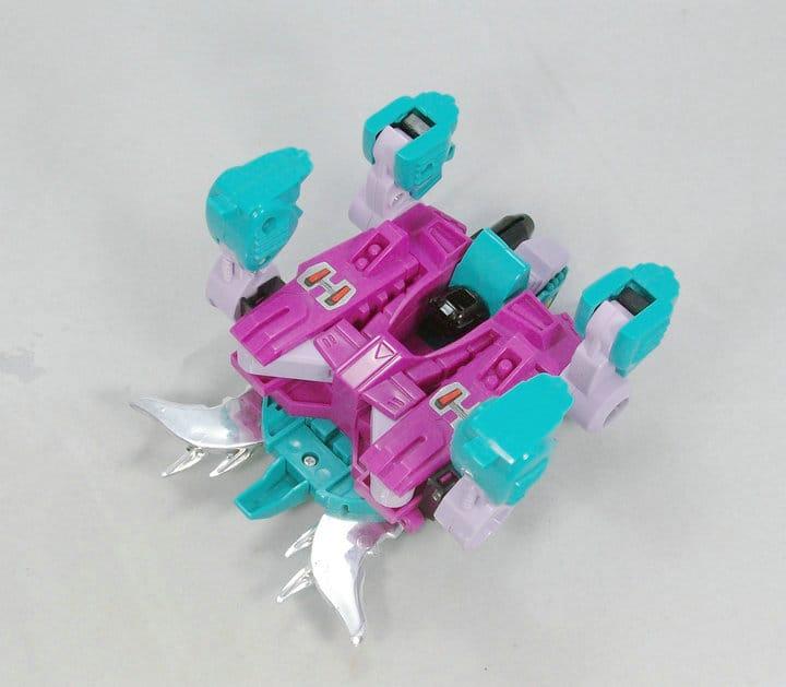 变形金刚 g1 海底狂魔 组合成员 坚甲龟 美版澳产 全